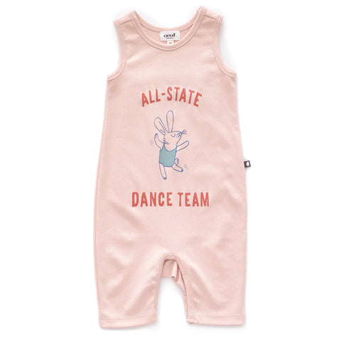 Sleeveless Jumper-Light Pink/Dance-3m-Oeuf LLC