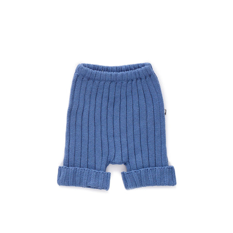 Everyday Shorts-Blue-6M-Oeuf LLC