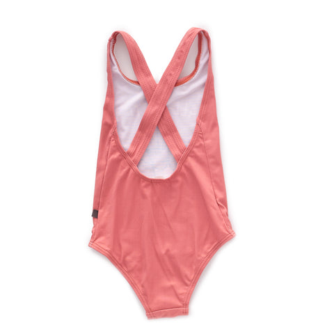 Tank Bathing Suit-Rust/Dance-10Y-Oeuf LLC