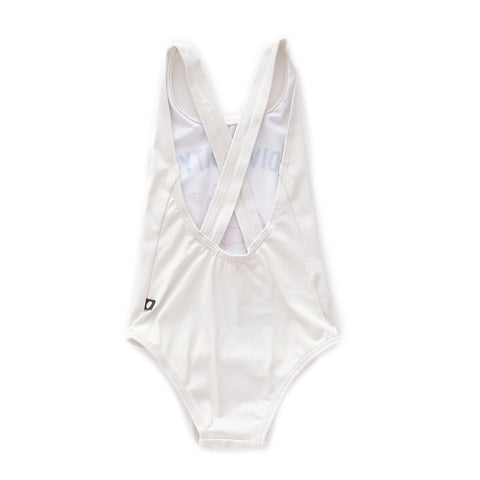 Tank Bathing Suit-White/Diversity-10Y-Oeuf LLC