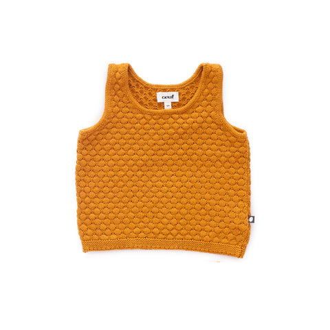 Honeycomb Knit Tank - Oeuf LLC
