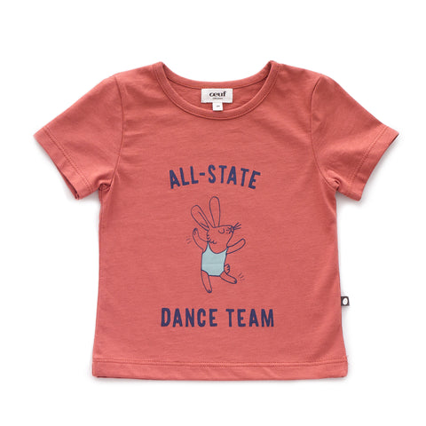 Tee Shirt-Dance-12M-Rust-Oeuf LLC
