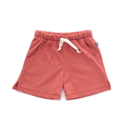Jersey Shorts-Rust-6M-Oeuf LLC