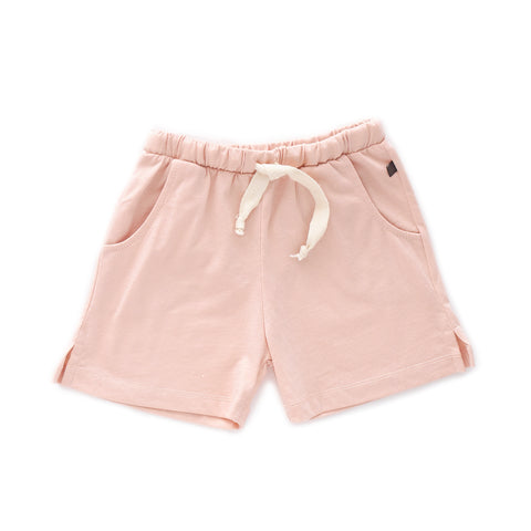 Jersey Shorts-Light Pink-6M-Oeuf LLC