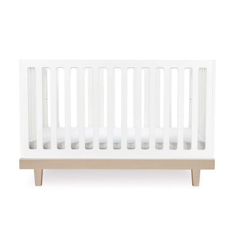 Arbor Crib-White/Birch-Oeuf LLC