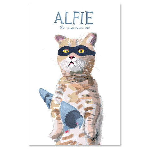 OEUF ANIMAL POSTER - CAT - Oeuf LLC