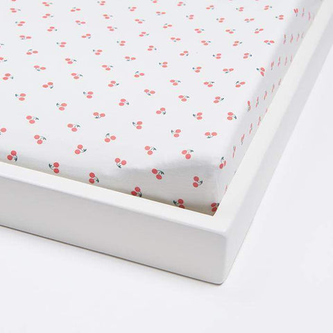 changing pad cover - printed - Oeuf LLC