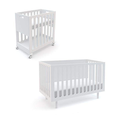 Fawn 2-in-1 Crib System-White-Oeuf LLC