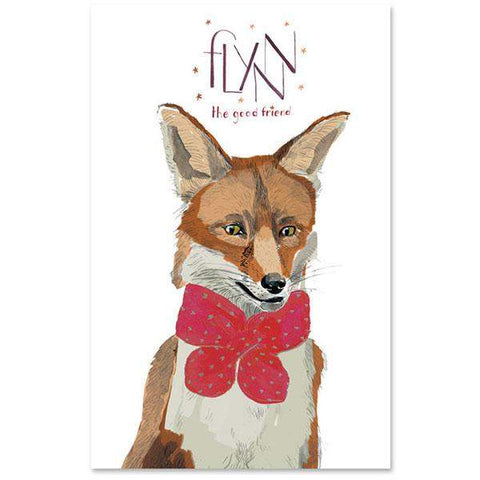 OEUF ANIMAL POSTER - FOX - Oeuf LLC