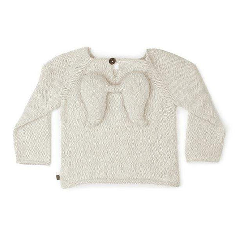 Angel Sweater-White