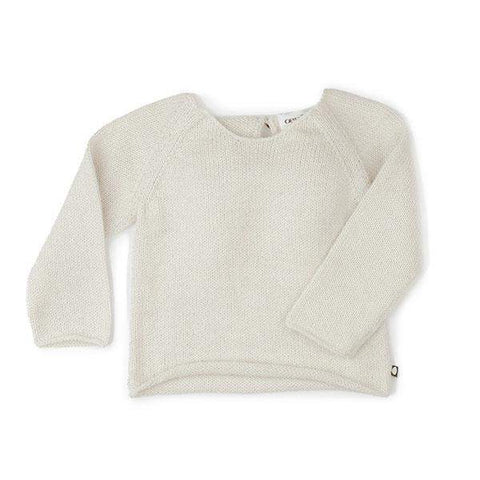 Angel Sweater-White - Oeuf LLC
