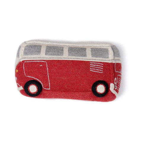 VW Bus-Red/Multi-OS - Oeuf LLC