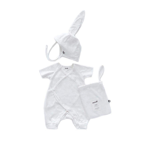 Baby Bunny Set-White-Oeuf LLC