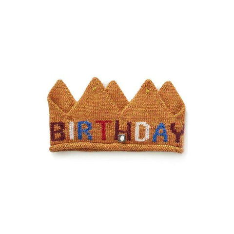 Crown-Gold/Birthday - Oeuf LLC