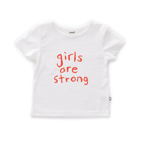SS Tee-Girls are Strong - Oeuf LLC
