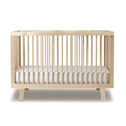Beau Natural Unfinished Sparrow Crib Oeuf LLC