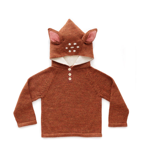 Bambi Hooded Sweater-Oeuf LLC