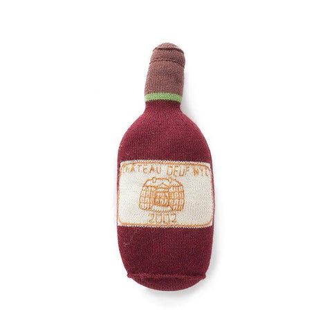 Bordeaux Bottle-Burgundy/Multi - Oeuf LLC