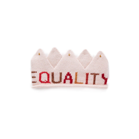 Equality Crown-Light Pink/Multi-Oeuf LLC