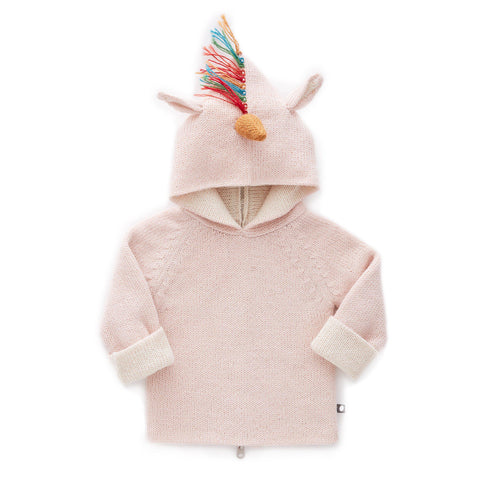 Reversible Hoodie-Rainbow Unicorn-Oeuf LLC