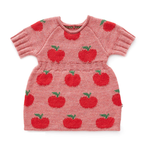 Apple Dress-Rose/Red-Oeuf LLC