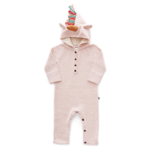 Hooded Jumper-Rainbow Unicorn - Oeuf LLC