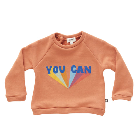 Sweatshirt-Sunburn/You Can-6M-Oeuf LLC