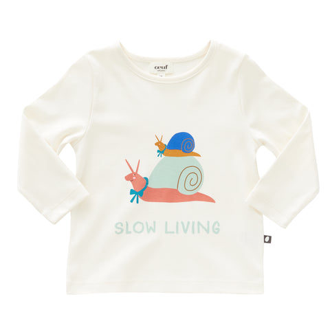 LS Tee Shirt-Slow Living