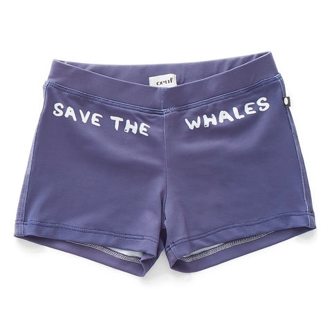 Swim Trunks-Indigo-Oeuf LLC