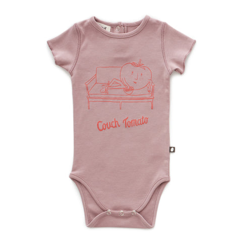 Back Snap Onesie - Oeuf LLC