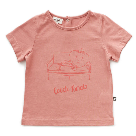 Tee Shirt-Couch Tomato - Oeuf LLC