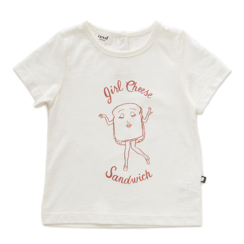 Tee Shirt-Girl Cheese - Oeuf LLC
