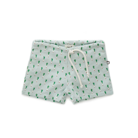 Linen Swim Shorts - Oeuf LLC