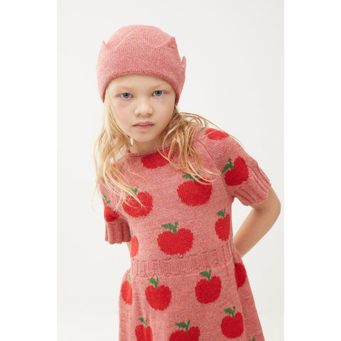 Apple Dress-Rose/Red - Oeuf LLC