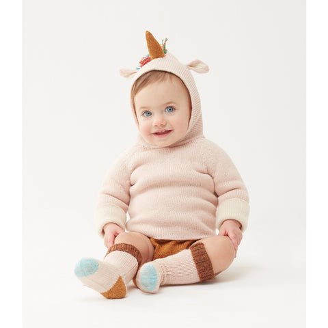 Reversible Hoodie-Rainbow Unicorn - Oeuf LLC