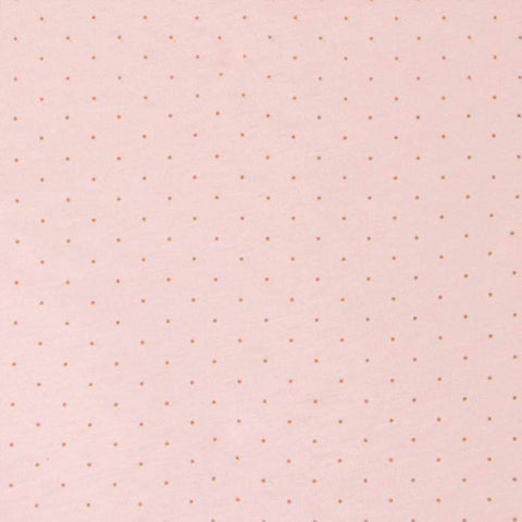 changing pad cover - printed-Pink/Mustard Dots-Oeuf LLC