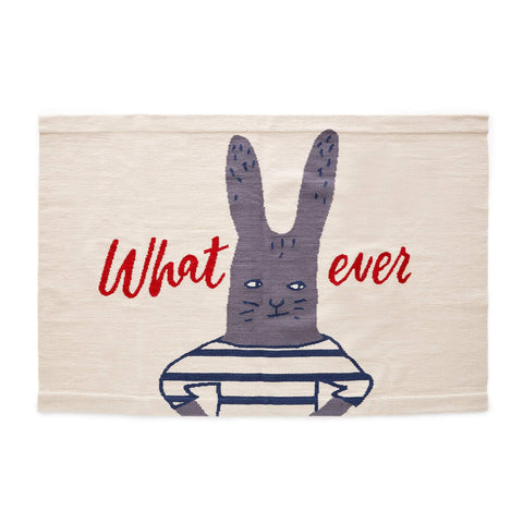 WHATEVER RUG-WHITE/MULTI-Oeuf LLC