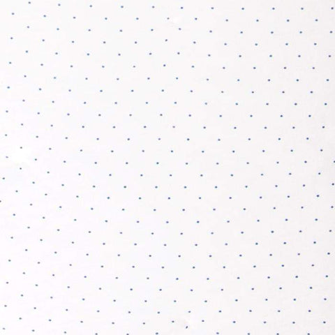 changing pad cover - printed-White/Indigo Dots-Oeuf LLC