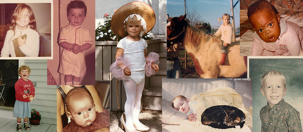 Oeuf team baby picture collage