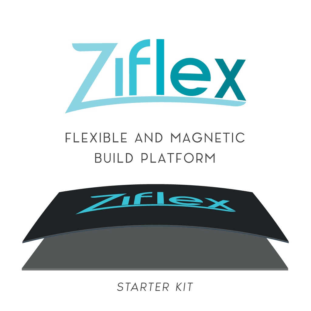 Ziflex: Flexible and magnetic build plate