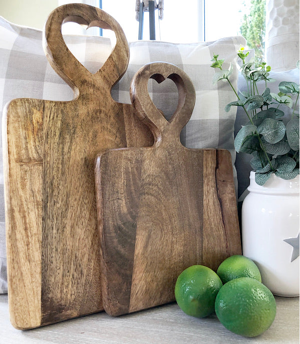 Heart or Star Chopping Board
