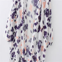 Long Beach Cover up Floral Printed