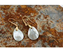 Natural Shell Dangle Earrings