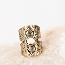 Southern Boho Antique Silver Or Gold Ring