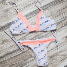 Pink Floral Bikini Multi Color Prints