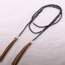 Huntress Dream Long Tassel Necklace