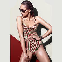 Ava Striped One Piece