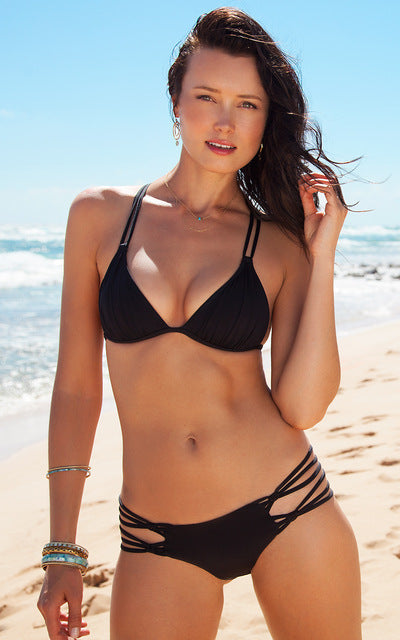 Isla Coast Low Waist Strappy Bikini