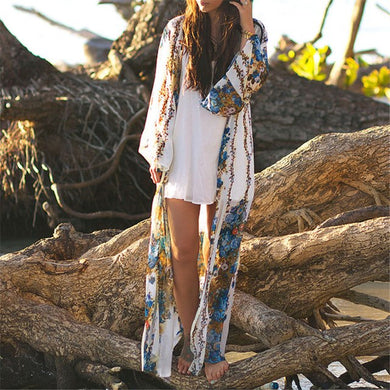 Sea Drift Long Beach Cover-Up