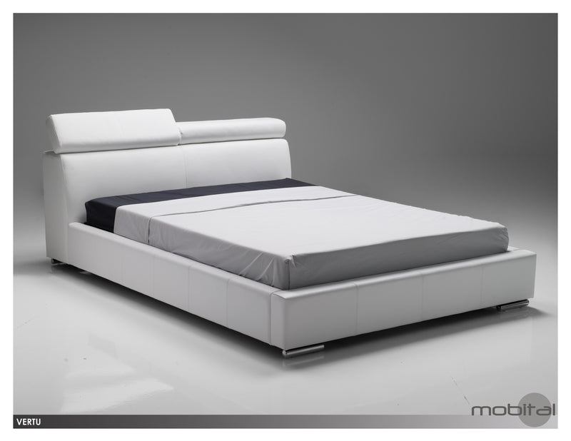 Vertu Bed Queen  (Grey)